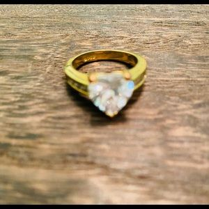 Gold filled heart ring size 7